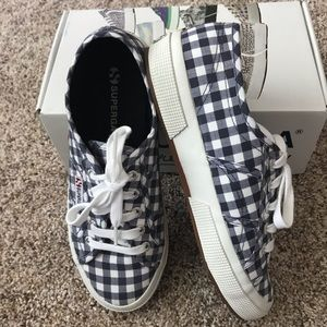 Indigo Blue Checkered Supergas